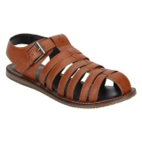 Bond Street By Red Tape Men Tan Sandals