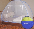 Mosquito Net Foldable (Double Bed) with Free Saviours