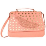 Detak Women's PU Sling Bag – Peach