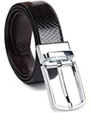 KAEZRI Reversible Pu-Leather Formal Belt for Men