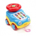 Mitashi Learning Car Musical Toy ( Sky Blue )