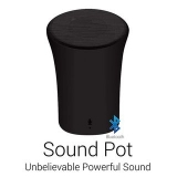 Portronics POR 280 Sound Pot Wireless Bluetooth Speaker (Black)