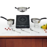 Singer Induction Cook top & Cookware Set Combo